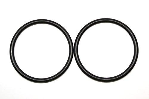 Roo Threads Aluminum Rings for Baby Slings, Black