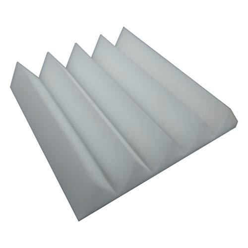 AMOFINY Home Decor Acoustic Foam Panel Sound Stop Absorption Sponge Studio KTV Soundproof
