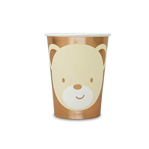 - Hatton Gate Teddy Bear Paper Party Cups 8 Cups per Pack