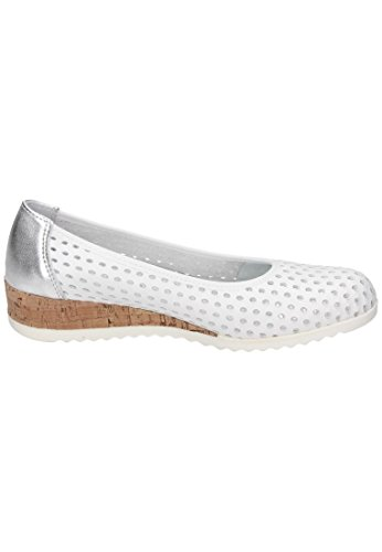 Comfortabele Dames-slipper Wit 942200-3 Wit