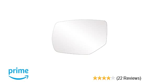 Fit System 33269 Honda Accord Left Side Heated Power Replacement Mirror Glass with Backing Plate and Turn Signal