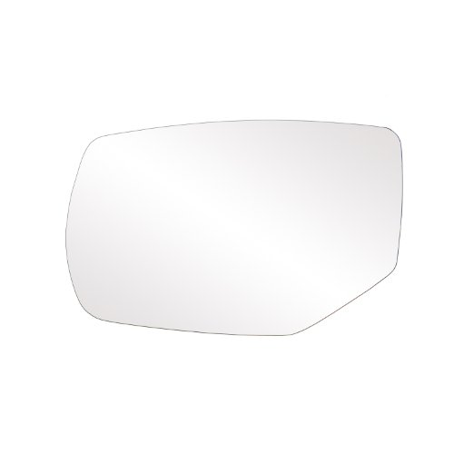 Honda Accord Power Mirrors - Fit System 33269 Honda Accord Left Side Heated Power Replacement Mirror Glass with Backing Plate and Turn Signal