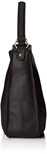 Stonefly Sacca Vally, Borse a Tracolla Donna, Nero (Schwarz 000 Black), 38.5 x 31.5 x 11 cm (B x H x T)