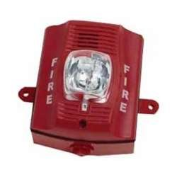 System Sensor P2RK Red Two-Wire, Outdoor Horn Strobe