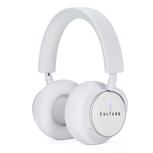 (Culture V1 Wireless, Active Noise Canceling Headphones with Auto Pause/Play Sensors, Swipe Controls, Quick Attention Ambient Mode, and Low Latency Tech for Wireless Audio/Video Sync)