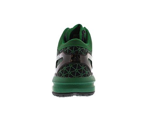 Adidas Asp Crazylight Öka Smart Basket Mens Skor Storlek Svart / Grön