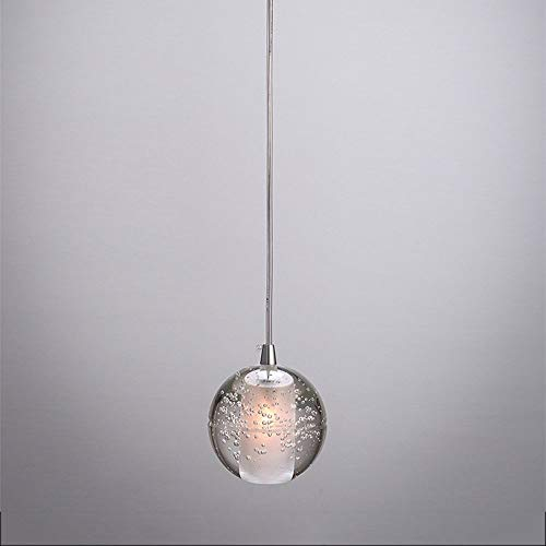 Modern Christmas Meteor LED Hanging Lighting Creative Bubble Pendant Light Crystal Glass Ball Chandelier Bedroom Dining Room Clothing Store DIY Combination Adjustable Ceiling Lamp