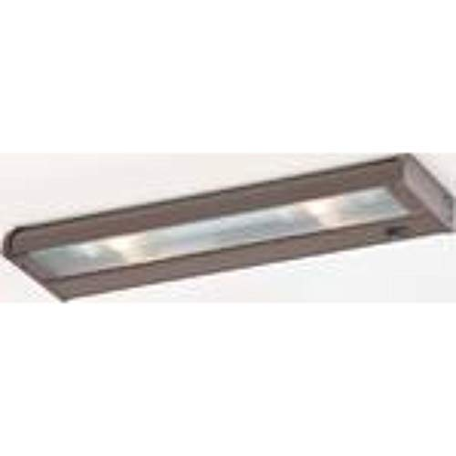 Lighting Counter Attack Under Cabinet - CSL Lighting NCAX120L-16BZ Counter Attack 16IN Undercabinet Fixture with SpeedLink, Bronze Finish with Prismatic Glass Diffuser