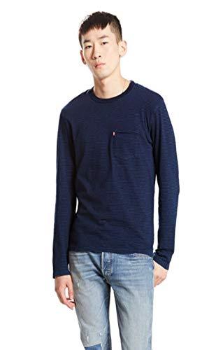 Tee T Indigo Levis Pocket Feeder Sunset Shirt Bleu 2 Attgq