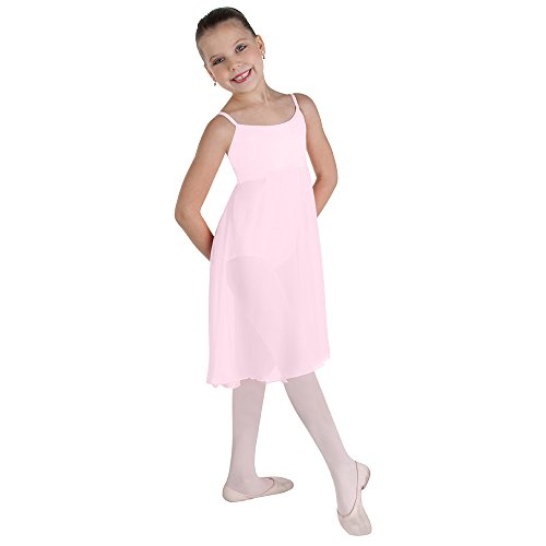 Wrapper Camisole - Body Wrappers Womens CAMISOLE DRESS 7799 -LIGHT PINK L