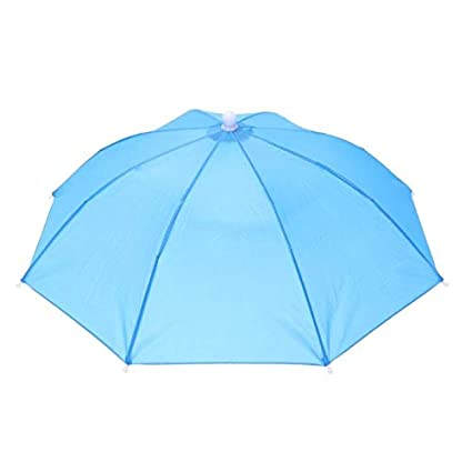 30aaa9203e97c S-Vntrendy - Portable Usefull Umbrella Hat Sun Shade Waterproof Outdoor  Camping Hiking Fishing Festivals Parasol Foldable Brolly Cap - - Amazon.com