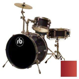 Drum Kit RB Drums RB-JR3-MWR 3 Piece Wine Red N/A
