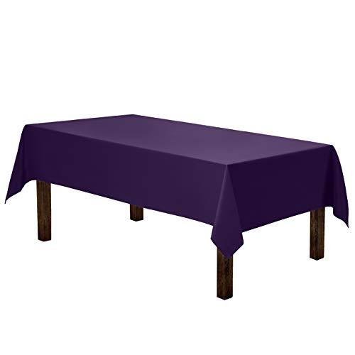 Purple Tablecloths - Gee Di Moda Rectangle Tablecloth -