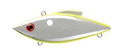 Bill Lewis Lures RT141S Rat-L-Trap Chrome/Chartreuse - Sw, 1/2 oz.