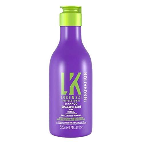 Shampoo 320 ml Desamarelador, Lokenzzi, Lokenzzi