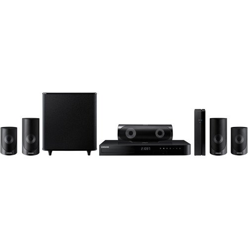 Samsung 5.1-Channel 1000W Bluetooth 3D Smart Blu-ray Home Theater System by Samsung