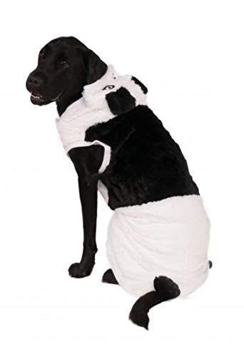 Big Dog Panda Costume with Bag of Treats -