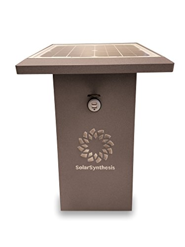 Solar Powered Cell Phone Charging Station - 6