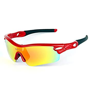 Mjia sunglasses Gafas Deportivas Hombre,Anteojos de Deportes Gafas,polarizadas Gafas de Pesca de