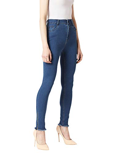 Miss Chase Women #39;s Skinny Fit Blue Denim Jeans