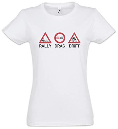 The Mermaid Conviction Rally Drag Drift Women T-Shirt Sizes XS - 2XL White
