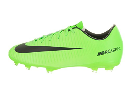 Botas Jr Nike WHITE Vi Mercurial FLASH BLACK ELECTRIC Victory Fg LIME de fútbol GREEN pBpwUqS