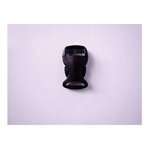 100個セット NIFCO ニフコ YSR20 プラスチック バックル 黒 20mm巾用 ベルトの長さ調節などに 100個セット  B07K2V46NV