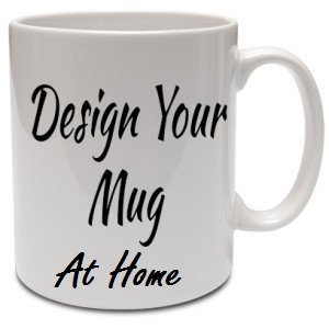 16 oz Large Coffee Mug or Tea Cup Glossy White Finish - Dishwasher Safe with Clear Coat for Sublimation Transfers