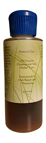 Natural First Ginseng and Aloe Vera Hair Growth Thickening and Repair Serum, 2 oz