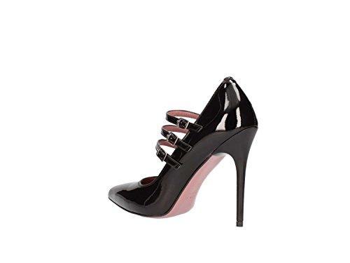 ALBANO 7165 Zapato Alto Mujer negro