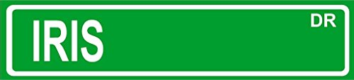 IRIS Green Aluminum Street Sign 4