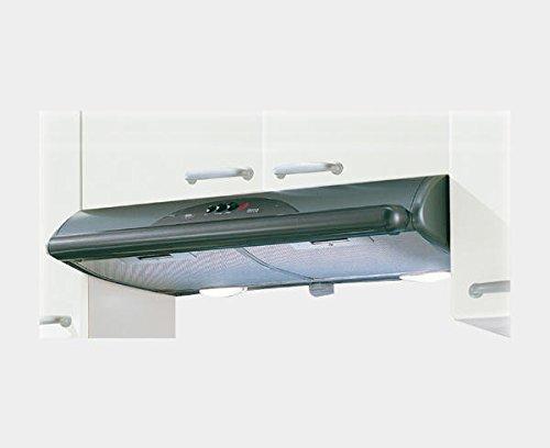 66 Decibeles 40 W Mepamsa Mito Jet 71 Campana aspirante Decorativa de Pared Color Gris Metal