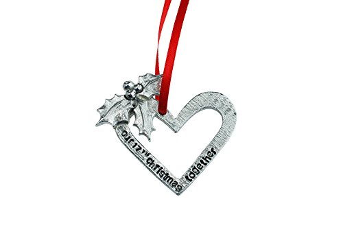 17th Anniversary Christmas Tree Ornament - Reads Our 17th Christmas Together by Pirantin (Image #3)