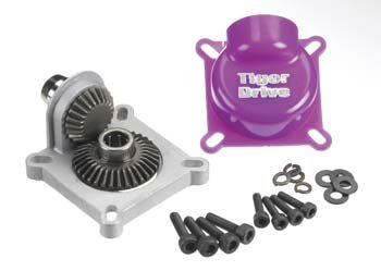 TigerDrive Clutch Version, 6mm Rear Output (Products Starter Drive)