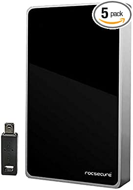 "New Buffalo MiniStation 1 TB USB 3.0 2.5/"" slim External Hard Drive 1TB BLack"