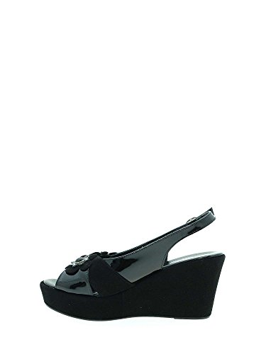 Sandals Wedge Women Susimoda Black 274092 fpqvnv