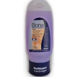 - Bona Pro Series WM700058005 Hardwood Floor Cleaner Refillable Cartridge for Spray Mop, 34-Ounce
