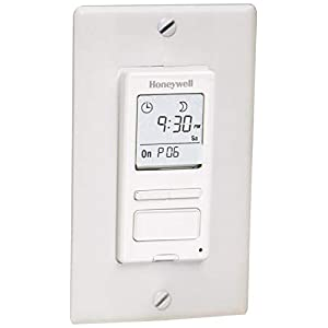 Honeywell RPLS540A1002/U ECONOSwitch Programmable Timer Switch (White)