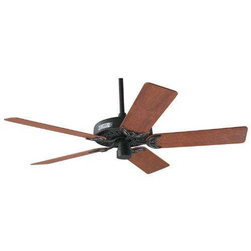 Hunter ceiling fans 23855 original classic 52 fan black cast iron indoor fan 52 appliances - Black iron ceiling fan ...