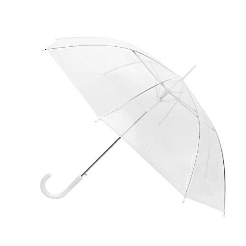 Umbrella Promotional (Clear/ transparent See-Thru Premium Umbrella)