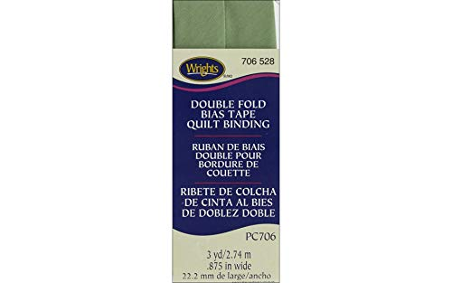 (Wrights Sage Double Fold Quilt Binding 7/8