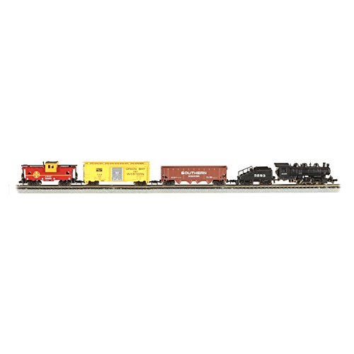 Bachmann Industries Yard Boss - N Scale Ready to Run Electric Train Set – Designed for Advanced Train Enthusiast