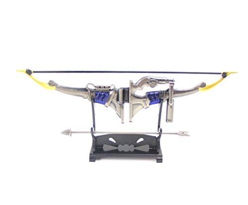 Brdwn Unisex Cosplay Genji Model Key Ring,Hanzo bow(20cm)