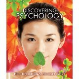 Discovering Psychology (Loose Leaf), Don H. Hockenbury and Sandra E. Hockenbury, 146410932X