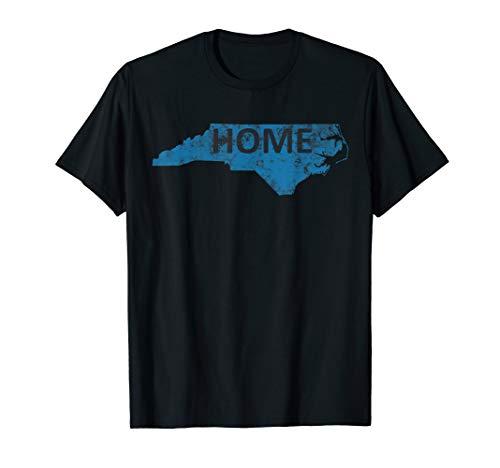 Carolina Panthers T-shirt - Home - North Carolina Panther Blue & Black T-Shirt