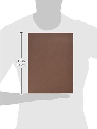 12in Riverside Paper Groundwood Construction Paper Dark Brown x 18in