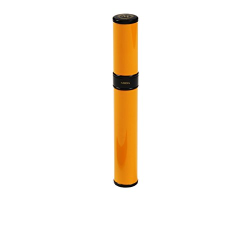 MYON PARIS Metal Cigar Case - Humidor Hold 1 Yellow