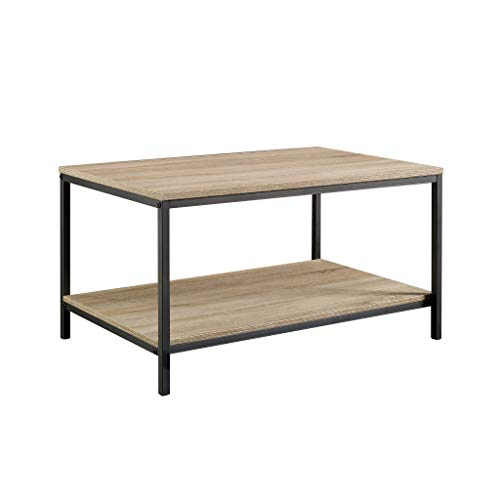 Metal Oak Coffee Table - Sauder 420275 North Avenue Coffee Table, L: 31.50