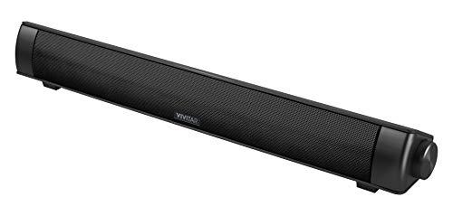Vivitar VZ60042ALX Smartbar Bluetooth Soundbar with Built-in Voice Assistant for Living Room, Dorm Room or Office (Best Soundbar For Living Room)