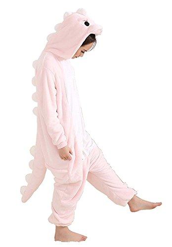 Superhero Adult Onesies (AooToo Womens Costumes Onesie Halloween Unisex Dinosaur Flannel Animal Pajamas(KLPI, S))